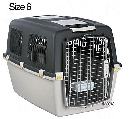 Resistente - GULLIVER de caseta de perro ideal para perro Carrier para viajes en avión, coche o tren: Amazon.es: Productos para mascotas