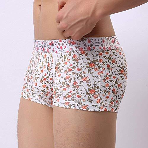 Arancia Uomo Di Mode Vintage Traspirante Mutande Da E Confortevole Printed Underpants Pugilato Marca Fashion Pantaloncini URHB6WF1q