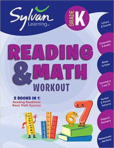 Kindergarten Reading & Math Workout: Activities, Exercises, and Tips ...