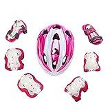 KTH Super Light Weight Adjustable Helmets, Cycling, Skateboard etc Sports Helmet for Primary Children (Color : Pink)