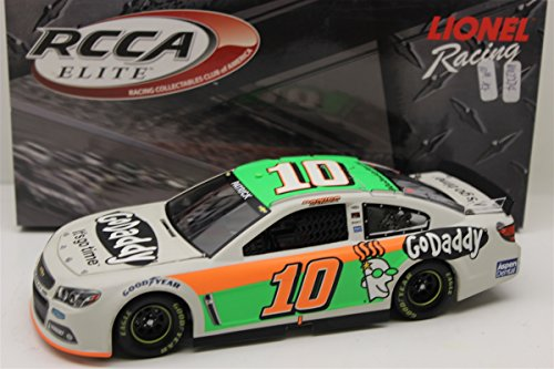 Danica Patrick 10 GoDaddy 2014 SS Chevrolet Sprint Cup Diecast Test Car, 1:24 Scale Elite HOTO, Official Diecast of NASCAR ()