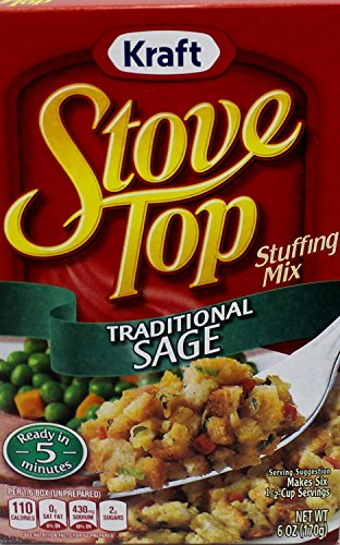 (Kraft Stove Top Traditional Sage Stuffing Mix (Pack of 3))