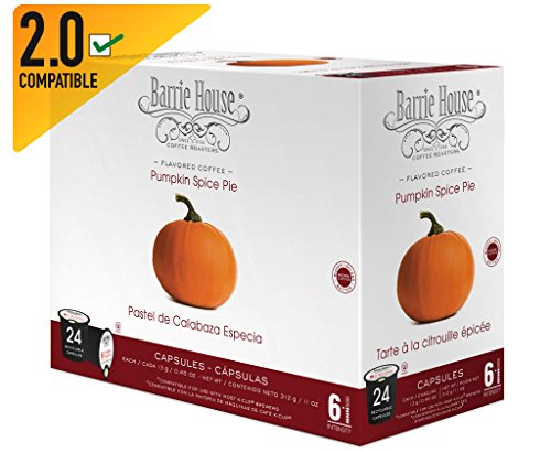 Barrie House Pumpkin Spice Single Cup Capsule (72 Capsules)