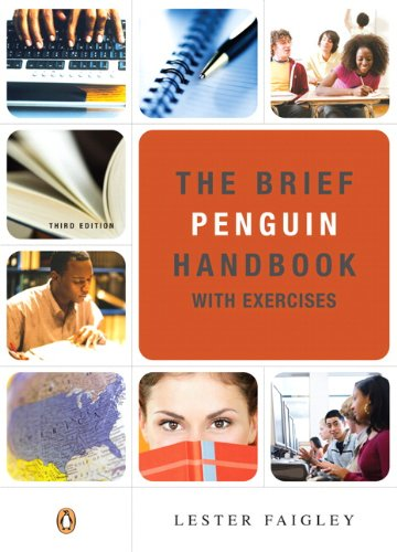 Brief Penguin Handbook with Exercises, The (with Pearson Guide to the 2008 MLA Updates) (3rd Edition)