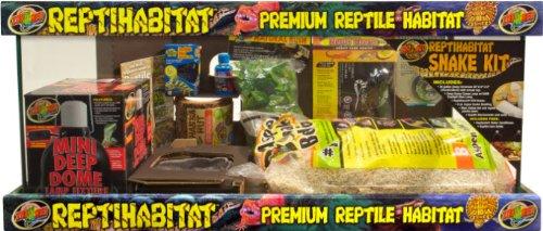 Zoo Reptihabitat Schlangenterrarium-Kit, mittelgroß