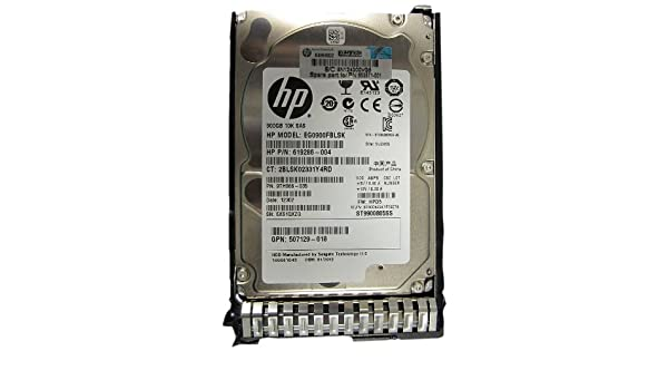 Hp G8 900gb 10k 6g//bs 2.5 Sas with Tray Certified Refurbished