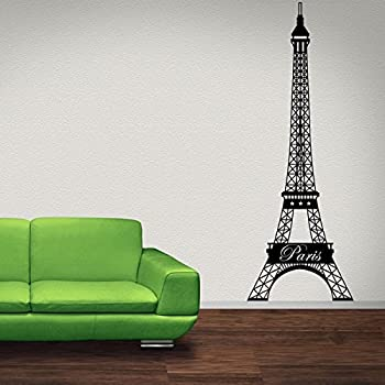 Eiffel Tower Wall Decal By Style U0026 Apply  Paris Wall Decal, Mural Sticker,