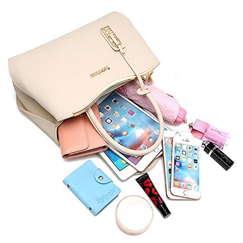 Mutil Borsa G tasche Tote Borse mano a Donna Handbag AVERIL Bag Shoulder borsa a Spalla grigio con Bag rZZqE4w