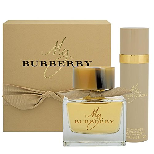My Burbërry 2 Piece TRAVEL GIFT SET for Women 3.0 fl.Oz Eau De Parfum Spray + 3.3 fl.Oz Fresh Deodorant