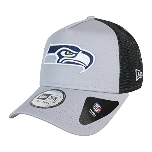 A NEW ERA Gorra Ajustable NFL Seattle Seahawks Team Esnl Trucker Gris/Negro