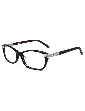9532293849c7 women optical luxury diamond design clear rectangle lens eyeglasses ...