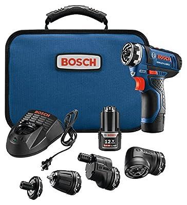 Bosch GSR12V-140FCB22 12V Max Flexiclick 5-In-1 Drill