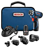 Bosch GSR12V-140FCB22 12V Max Flexiclick 5-In-1 Drill/Driver System For Sale
