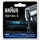 Braun Series 3 Combi 31s Foil And Cutter Replacement Pack (Formerly 5000/6000), 2-Count Save Big,