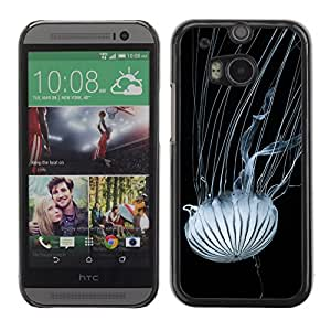 Super Stella Slim PC Hard Case Cover Skin Armor Shell Protection // M00421648 Jellyfish Tentacles Nettles Nature // HTC One M8