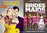 Judd Apatow's Leading Ladies: Trainwreck (Unrated) + Bridesmaids (Unrated) Mega Laughs Pack 2 DVD Movie Bundle