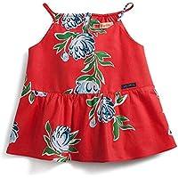 Blusa Primavera Green Vermelha - Infantil Menina