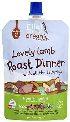 Ella's Kitchen Organic Lamb Roast Dinner - 4.93 Oz Pouch