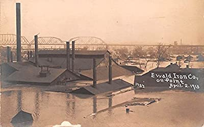Ewald Iron Co on Point Louisville, Kentucky postcard