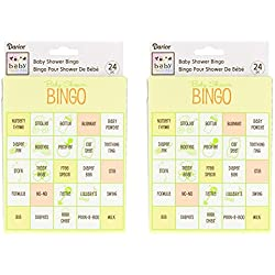 Baby Shower Bingo Game, 48 Total Cards