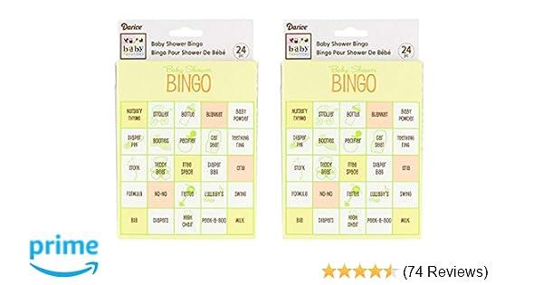 Bulk Buy Darice Bridal Shower Bingo Cards 24 Pkg 3 Pack Inc Xmas