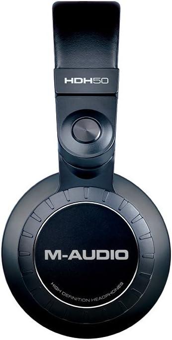 M-Audio HDH50 Cuffie da Studio Circumaurali ad Alta Definizione per Monitoraggio Audio