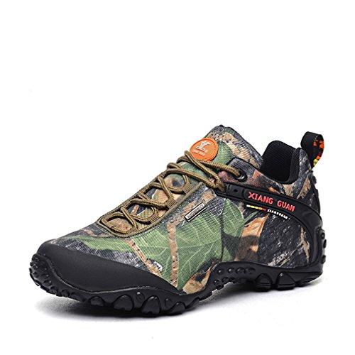 Trail Femme XIANG Chaussures Camo Imperméable Trekking Respirant GUAN randonnée Forest Outdoor de Camo Multisport UqwUvpcS
