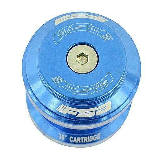 FSA Orbit MX 1-1//8 Threadless MTB Road Headset with Top Cap Light Blue #XTE1754