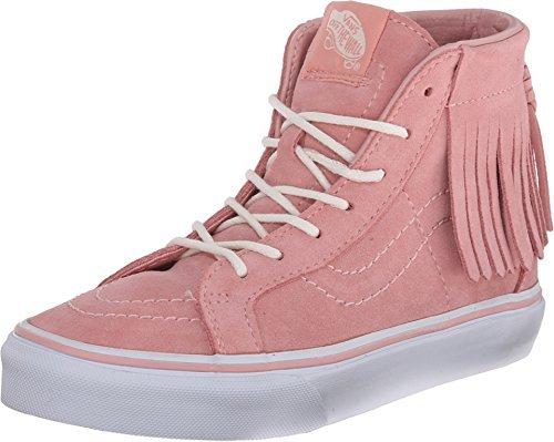 Vans Girls Sk8-Hi Moc Sneaker Suede Blossom (11.5 Little Kid M)