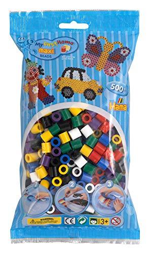- Hama Maxi Beads 500 Solid Mix