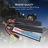 Tenergy Airsoft Battery 11.1V 1000mAh LiPo Battery