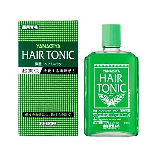 YANAGIYA Hair Medicated Hair Growth Tonic 240ml imported from Japan ()