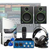 Presonus AudioBox 96 Studio + Mackie CR4 Monitors Home Recording Studio Bundle