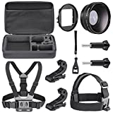 Neewer 6-in-1 Essential Optical Accessory Lens Kit for Gopro Hero 3+ Hero 4 for Parachuting Bicycle Rriding - Swimming - Diving - Skating and Other Outdoor Sports