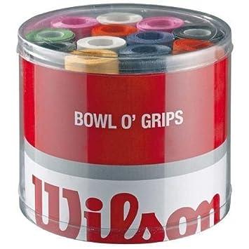 Wilson Z4710 Overgrip Bowl - Lote de bandas antideslizantes para raquetas de tenis (50 unidades