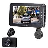 Best Car Dash Cameras - Car Dashcam,Dash Cam Recorder Front and Rear Facing Review