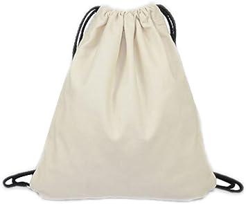 LAAT Bolsa y mochila de tela de algodón unisex para niños o adolescentes, diseño con dibujos de animales (5): Amazon.es: Deportes y aire libre