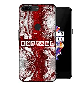 ColorKing Football England 09 Multicolor shell case cover for OnePlus 5T