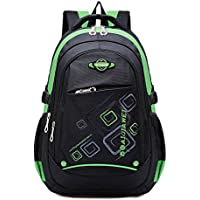 MAYZERO Waterproof School Bag Durable Travel Camping Backpack for Boys and Girls