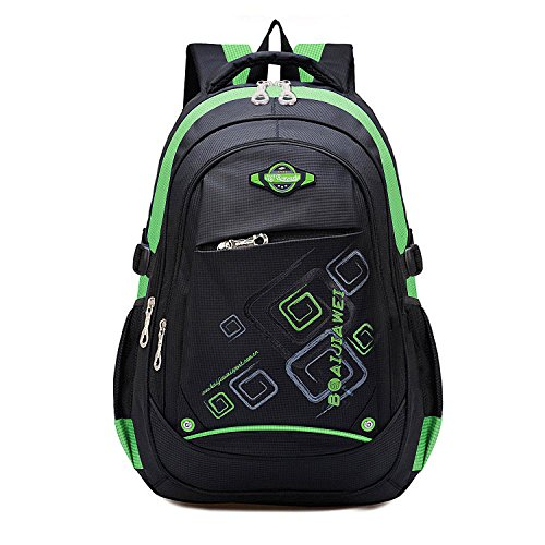 MAYZERO Waterproof Backpacks Bags Durable Travel Camping Backpack for Boys and Girls