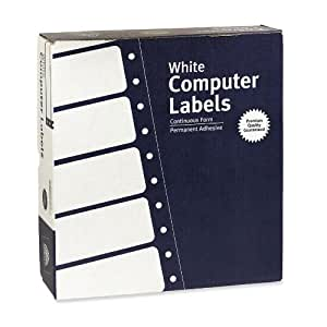 Avery Pin Fed Labels (4031)