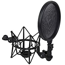 LyxPro Intergrated Shock Mount and Pop FIlter