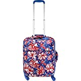Lipault Paris Blooming Summer 2.0 20'' Carry-On Spinner (Flower/Pink/Blue)