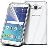 N4U Online® Ultra Superior Clear Gel Case Cover For Various Mobile Phones (Samsung Galaxy J7)