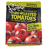 Frontera Foods Salpica Crushed Tomato - Tomato Garlic and Onion - Case of 6-14.5 oz.