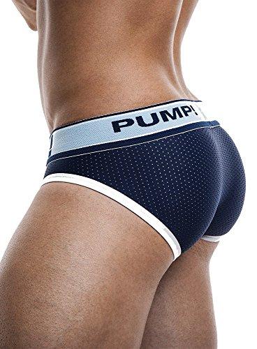 Pump! Blue Steel Brief navy Slip Underwear