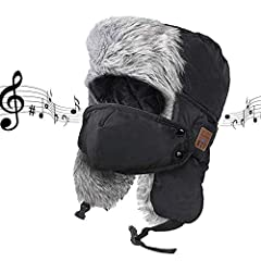 Thank you for your choosing BIGEVE Bluetooth music hat, it will change your life. The music, the soul of man, and only who knows music talent understands life.Unique Craftmanship of Your Hat Made From Premium Polyester and Faux Fur Stitched t...