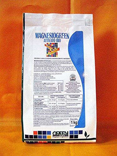 magnesiogreen (solfato de magnesio + microelementi) (1 kg), Abono idrosolubile para