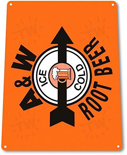 Vintage A&w Root Beer - 9