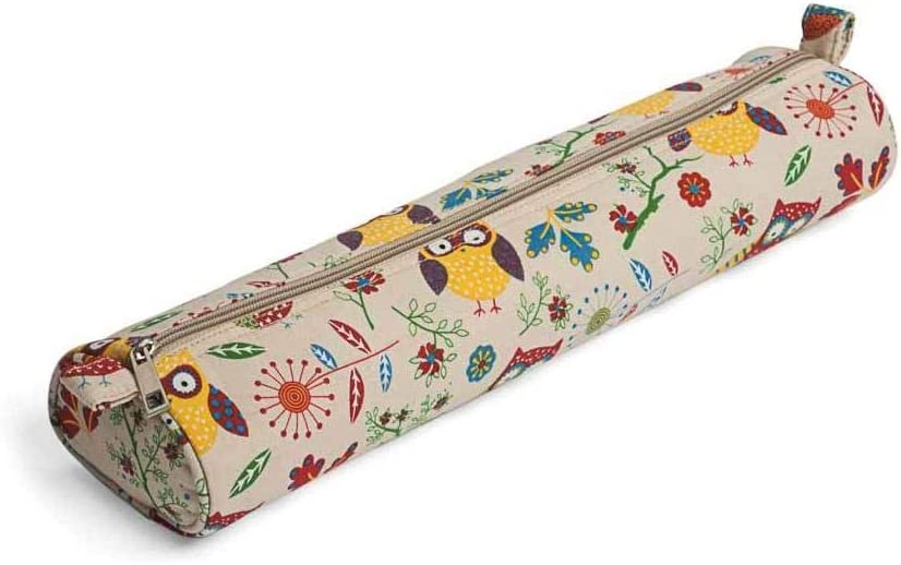 Knitting Bag Knitting Needle Case Storage Bag for Knitting Pins /& Needles OWLS